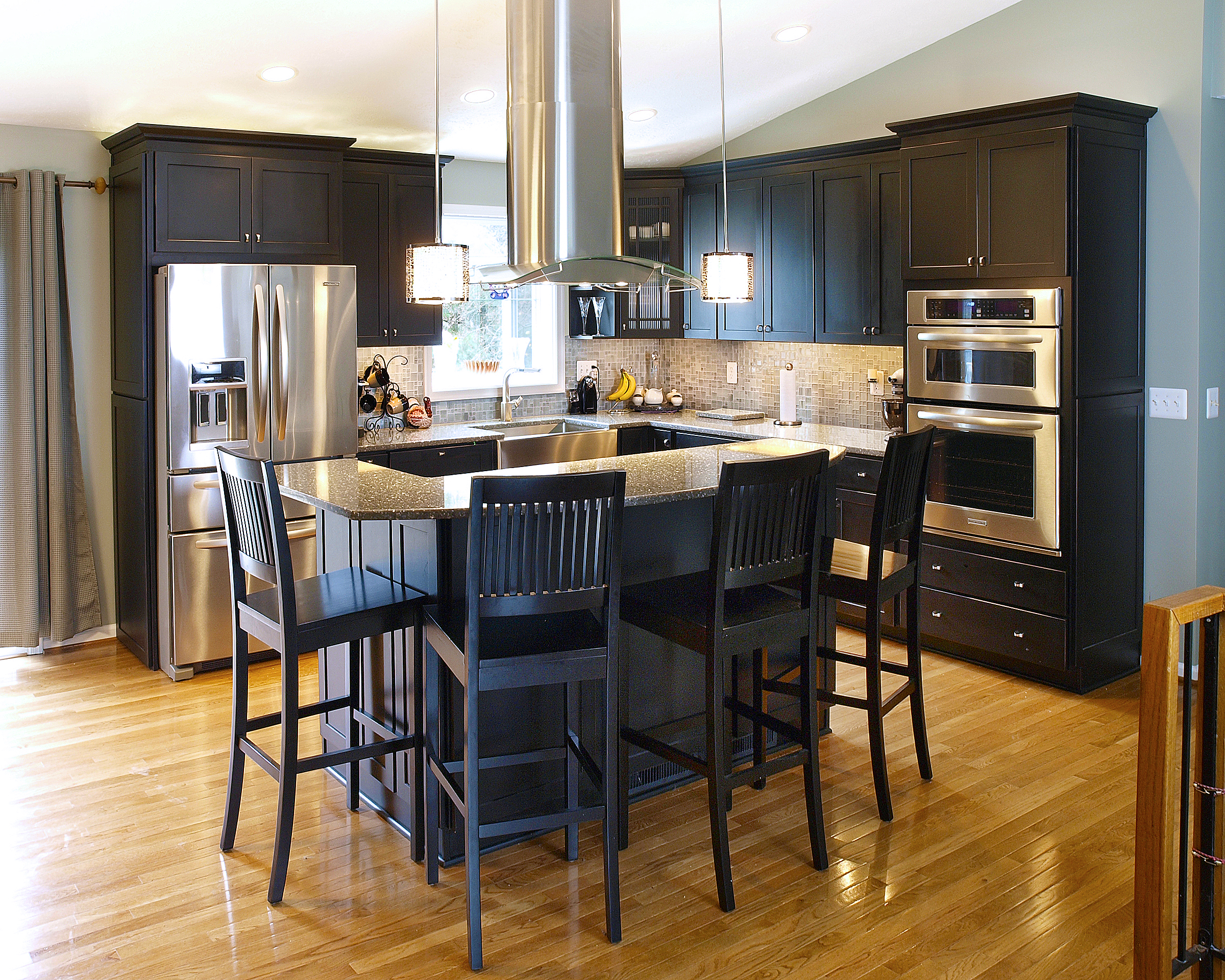 eat-in kitchens & islands - bel-air construction – maryland