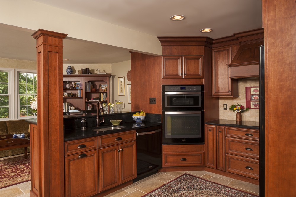 awesome Kitchen Remodeling Bel Air Md #2: ... people remodel their kitchens is to enlarge them. If the original  kitchen is small, there are numerous ways to increase the size. Bel Air  Construction ...